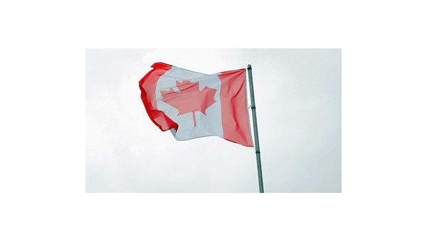 Флаг Канады, архивное фото