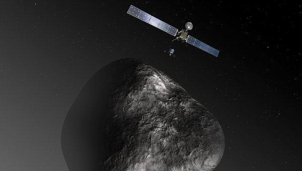 Ядро кометы Чурюмова-Герасименко, архивное фото