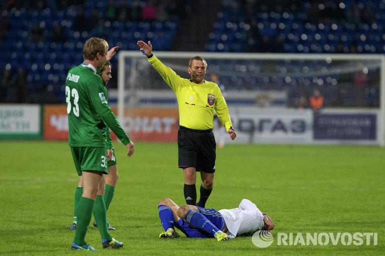 Томь не сумела продлить беспроигрышную серию, уступив Динамо