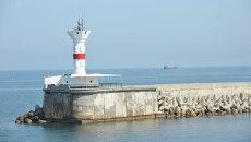 Сигнальный маяк для военных кораблей ЧФ РФ в бухте Севастополя. Архивное фото