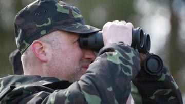 Секретарь совета нацбезопасности и обороны (СНБО) Украины Александр Турчинов. Архивное фото