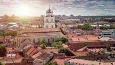 Вид на Вильнюс, Литва