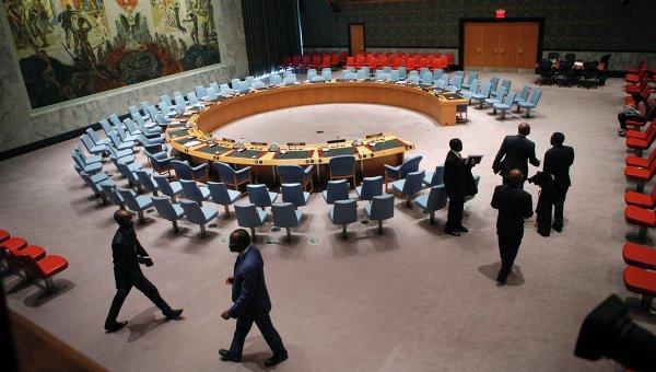 Подготовка в заседанию Совета Безопасности ООН
