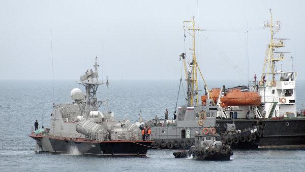 Ракетный катер Прилуки (U153) военно-морских сил Украины. Архивное фото
