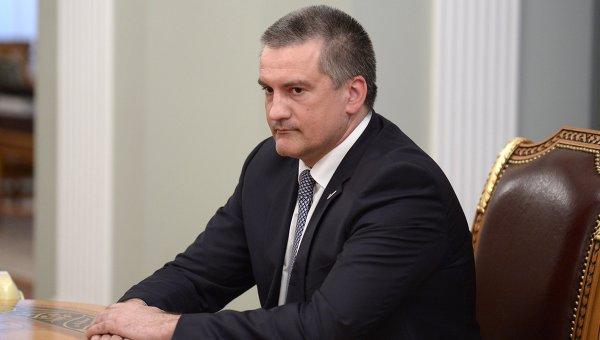Исполняющий обязанности губернатора Крыма Сергей Аксенов. Архивное фото
