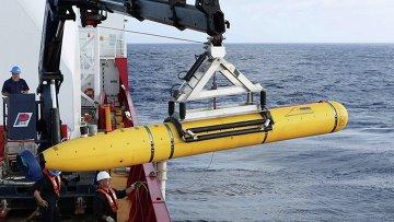 Автономный подводный аппарат Bluefin-21, с помощью которого ищут черные ящики пропавшего малазийского Boeing