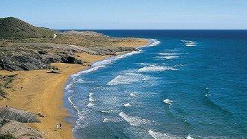 Пляж, архивное фото