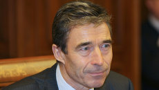 Генеральный секретарь НАТО Андерс Фог Расмуссен. Архив