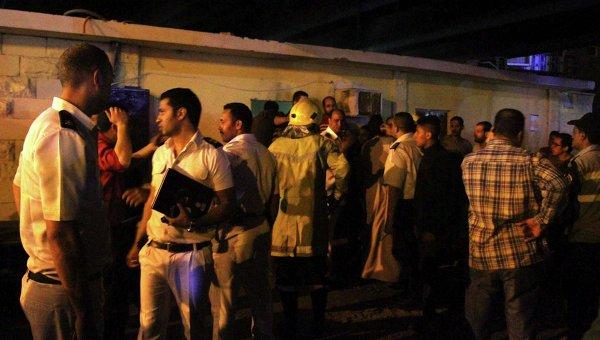 Взрыв в Каире. 18 апреля 2014 года