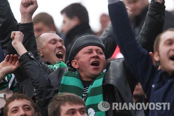 Матч Томь - Крылья Советов в Томске