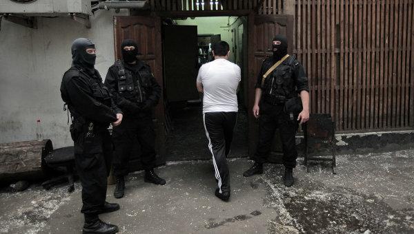 Сотрудники Федеральной Службы РФ по контролю за оборотом наркотиков. Архивное фото