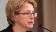 Министр здравоохранения РФ Вероника Скворцова посетила Крым