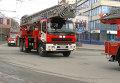 Парад огнеборцев: колонна пожарной техники проехала по центру Томска