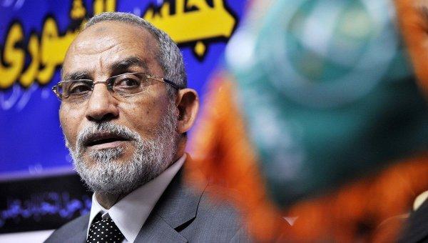 Лидер египетского движения ''Братья-мусульмане'' Мохаммед Бадиа
