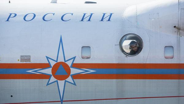 Борт МЧС России. Архивное фото