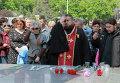 Акции в память о погибших в Одессе