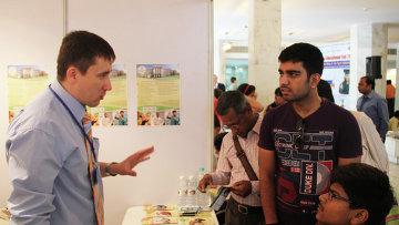 Открытие выставки Российское образование-2014 в столице Индии Нью-Дели