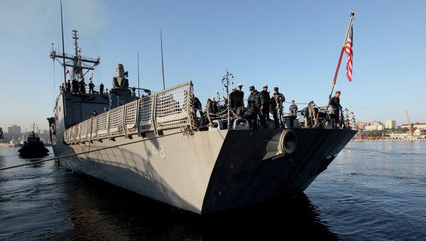 Ракетный эсминец Военно-морских сил США