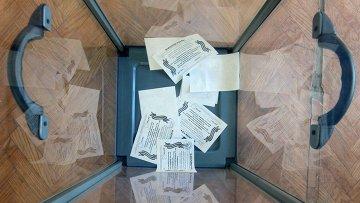 Голосование в Донецкой и Луганской областях. Архивное фото