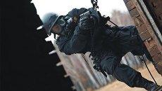 Сотрудник украинского спецподразделения. Архивное фото