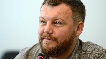 Сопредседатель Временного коалиционного правительства Донецкой народной республики (ДНР) Андрей Пургин. Архивное фото