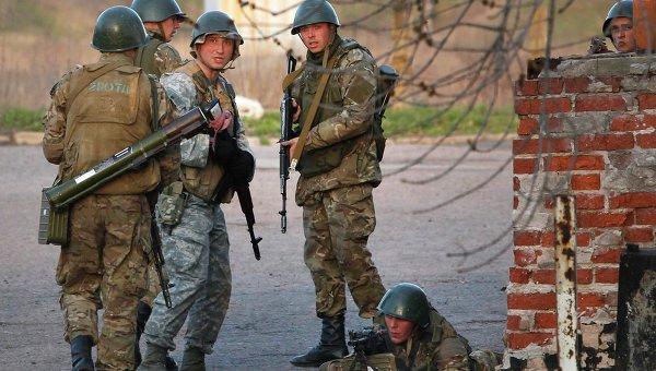 Краматорск. Украинская армия. Архивное фото