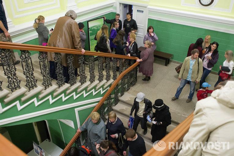 Ночь в музее-2014 в зоологическом музее Томского госуниверситета
