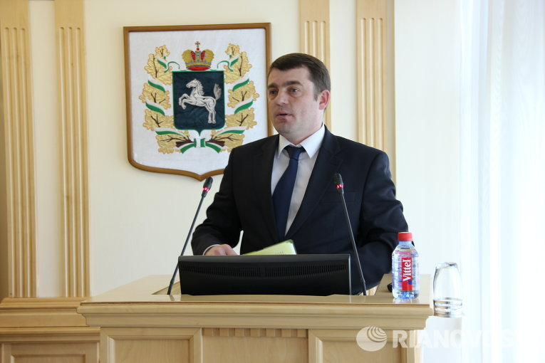 Директор томского регионального филиала ОАО Россельхозбанк Евгений Блинов
