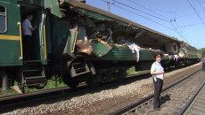 Разорвало вагон с начала до конца – очевидец о ЧП с поездами в Подмосковье
