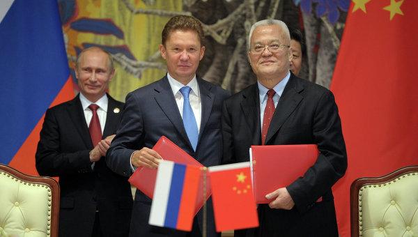 Церемония подписания совместных документов в Шанхае
