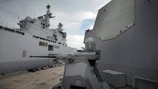 Система Иджис (Combat System Aegis) на борту военного корабля США. Архивное фото