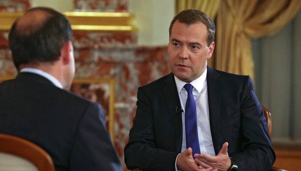 Интервью Дмитрия Медведева телеканалу Россия