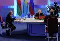 Президенты России, Казахстана и Белоруссии Владимир Путин, Нурсултан Назарбаев и Александр Лукашенко на заседании ЕАЭС