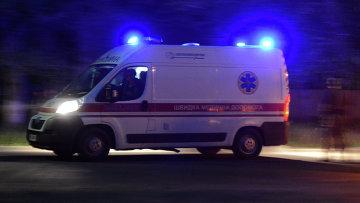 Автомобиль скорой помощи на Украине, архивное фото