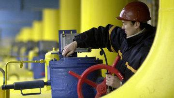 Объект газотранспортной системы Украины, архивное фото