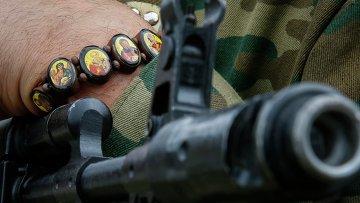 Боец батальона Восток