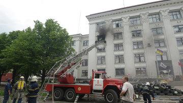 Последсивия вианалета ВВС Украины на обладминистрацию Луганска