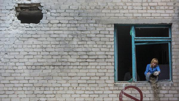 Больница в Славянске. Архивное фото