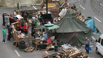 Ситуация на Майдане. Архивное фото.