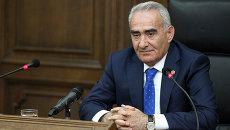 Спикер Национального собрания Республики Армения Галуст Саакян. Архивное фото