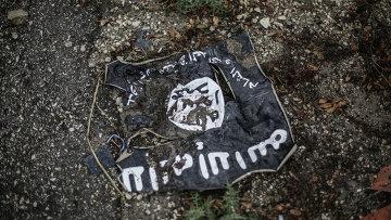 Флаг Исламского государства. Архивное фото