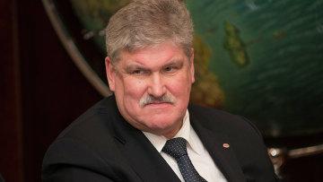 Первый вице-президент ОАО РЖД Вадим Морозов. Архивное фото
