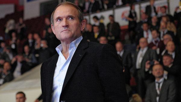 Лидер общественного движения Украинский выбор Виктор Медведчук