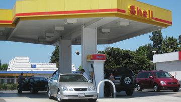 Автозаправочная станция концерна Shell