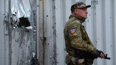 Ополченцы Донецкой Народной Республики (ДНР). Архивное фото