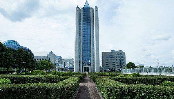 Главный офис компании Газпром в Москве, архивное фото
