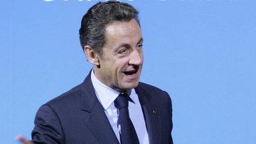 Николя Саркози во французском Довиле