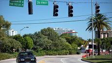 Пригород Майами Майами-Бич, США. Архивное фото