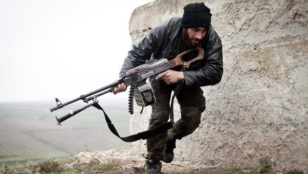 Боец Свободной сирийской армии. Архивное фото