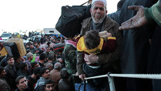 Беженцы в Ливии. Архивное фото
